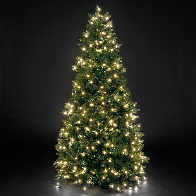 Искусственная новогодняя елка с LED огоньками