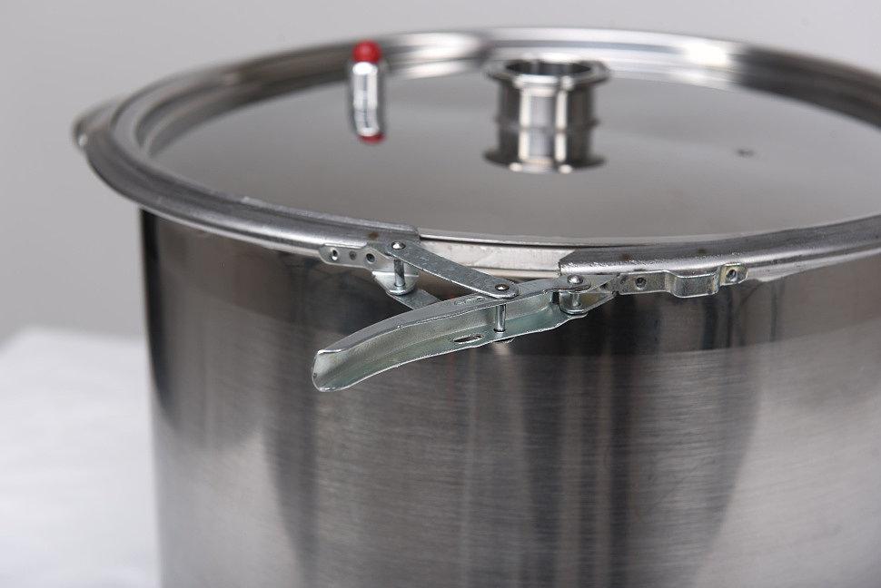 Крепление крышки перегонного куба самогонного аппарата Люкссталь-2