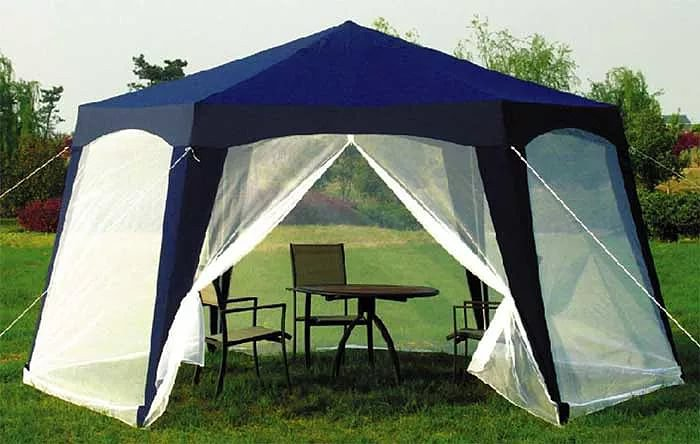 Тент шатер для дачи