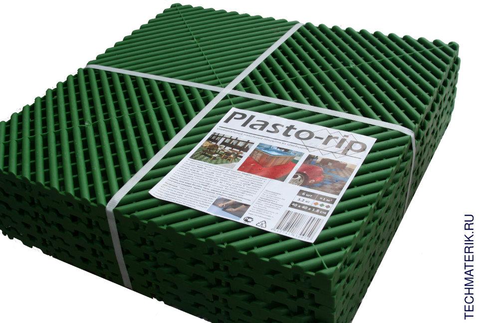 Купить пластиковую плитку для дачи