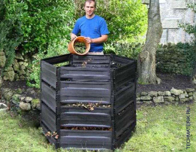 Садовые компостеры для дачи своими руками